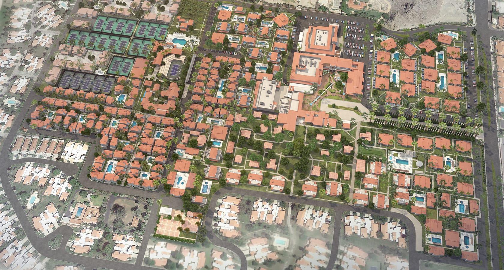 La Quinta Resort Map