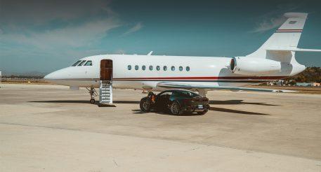 sun air jets - jet on tarmac